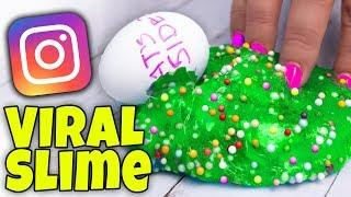 TESTING 5 VIRAL SLIME RECIPES FROM INSTAGRAM!