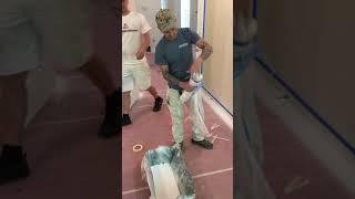 How to paint walls with an 18 inch roller