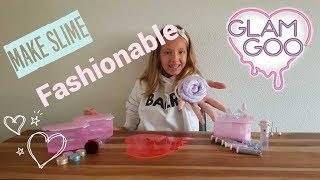 Unboxing Glam Goo Make Slime Fashionable Mega Pack !