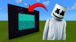 How To Make A Portal To The Marshmello Dimension in Minecraft!
