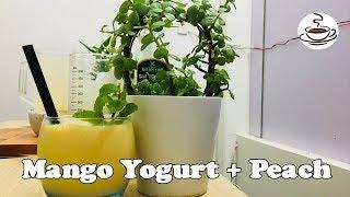 How To Make Mango Yogurt + Peach |The House Coffee Channel