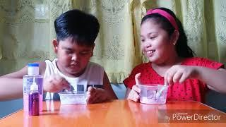 Making slime!!!... with this chubby cousins (Philippines)