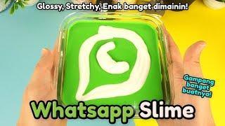 Akhirnya! Begini Cara Bikin Whatsapp Slime yang mudah! | Cara Membuat Whatsapp Slime