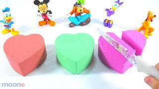 DIY How To Make House with Kinetic Sand Surprise Toys Fun For Kids