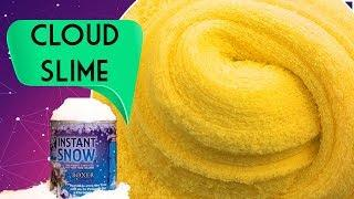 Fısfısla Bulut Slime Yapımı! How to Make Cloud Slime Recipes!