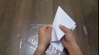 How to make Concorde Aircraft by paper
