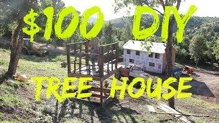 $100 DIY Tree House - 2.5 Years In The Making!