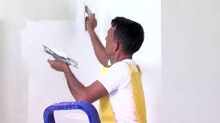 How to apply JK Wall Putty