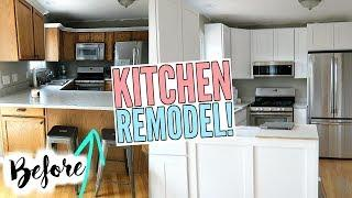 REMODELING OUR KITCHEN! HOUSE UPDATES!