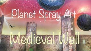 Medieval City Wall - SPRAY PAINT ART - Spiegato in Italiano - by Sposito