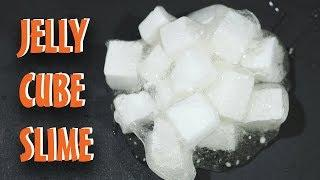 Best Jelly Cube Slime Tutorial || How I Make My Jelly Cube Slime Without Sponge