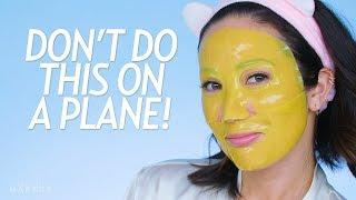 My Travel Skincare Routine + What Not to Do on a Plane!   Beauty with Susan Yara