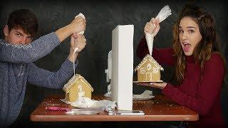 GINGERBREAD HOUSE COMPETITION: BF VS GF