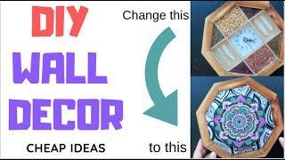DIY CHEAP WALL DECOR IDEAS /(Upscale Ideas to Save Money)