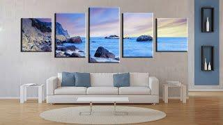 Top Wall painting ideas - Home wall decoration trends 2019