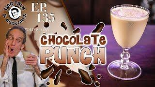 PUNCH UP YOUR COCKTAIL AND MAKE A CHOCOLATE PUNCH!