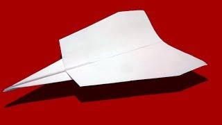 How to make a PAPER JET AIRPLANE that Flies 10000 feet Easy step by step |  Vesta