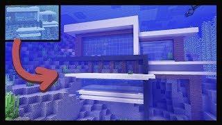 How To Make an UNDERWATER House In Minecraft! (Minecraft 1.13)