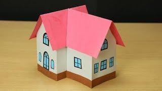 Beautiful Paper House- Attractive House from paper- Easy Craft
