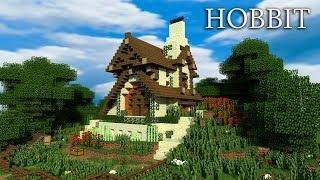 How To Build A EPIC Wooden House In Minecraft! Hobbit House