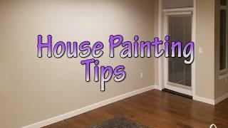 House Painting Tips : How to Achieve Nice Paint Lines
