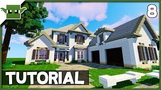 Minecraft 6-Bed Mansion Tutorial - Ep8 (How to Build a House in Minecraft)