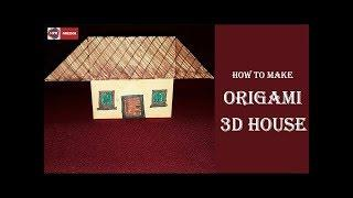 Paper Crafts | How to make Paper house | Paper house Making Video By HPR Media