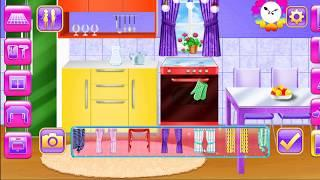 Game Babie -Dream Doll House - Decorating Game - Kitchen Decoration