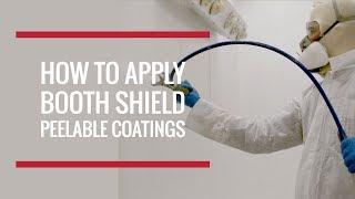 How to Apply Booth Shield Peelable Paint Booth Protection | Global Finishing Solutions