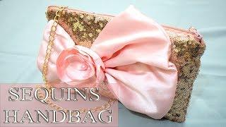 D.I.Y Beautiful Bow Handbag Tutorial |House Of Fashion