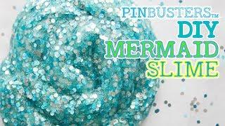 How To Make Mermaid Slime For Kids // DOES THIS WORK?