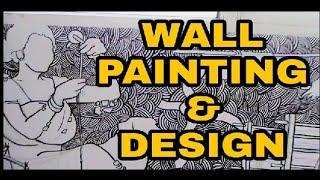 WALL PAINTING & DESIGN || Culture of Assam || India