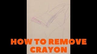 HOW TO REMOVE CRAYON FROM WALLS | PARENT HACK LEVEL 10,000!