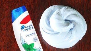 REAL !! Shampoo Slime, How to Make Slime with Shampoo. No Borax!!