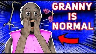 Granny Turns NORMAL AGAIN AND HAS A RETRO HOUSE!!! | Granny The Mobile Horror Game (Mods)