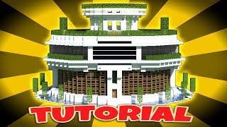 Minecraft Tutorial How To Make A Modern Mansion 5