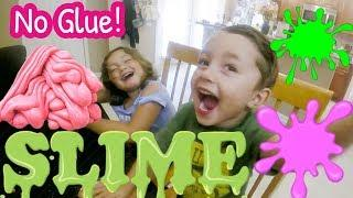 Easy NO-GLUE slime! ????????