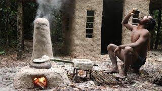 Primitive Technology: Make Rice Wine With Jack-fruit Natural Recipe