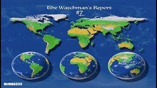 "The Watchman's Report #7 - Ocean Water Looks Like ""Wine"" - BIG Quake - Sea Creatures"