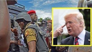 AMERICA elabudde Gavumenti ya Museveni ku bya Bobi wine under House Arrest