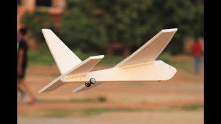 How to make a airplane - Flying aeroplane