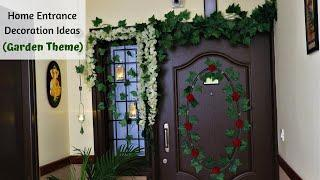 Home Entrance Decoration Ideas | Diwali Decoration Tips | Simplify Your Space