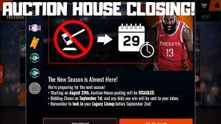 AUCTION HOUSE CLOSING IN 3 DAYS!!!HOW TO MAKE COINS FROM IT!!!NBA Live Mobile 18