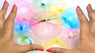 DIY Slime Balloonies Bubbles - Satisfying Slime Bubbles POP ASMR !