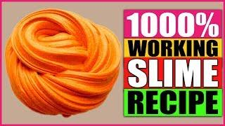 How To Make Slime? Easy Recipe 1000% Working | Without Borax! Slime Tutorial For Beginners
