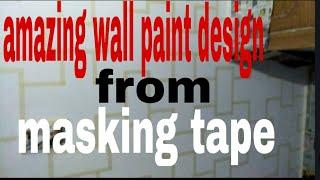Wall paint design by Nazim