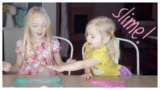 Sophie Teaches Willa How to Make SLIME!!