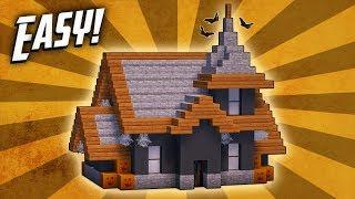Minecraft: How To Build A Haunted Halloween House Tutorial