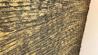 Scratch texture vertical finish.metalic gold finish