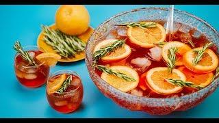 Bourbon Rosemary Punch Cocktail Recipe - Liquor.com